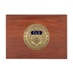 ICE Keepsake Box with Medallion