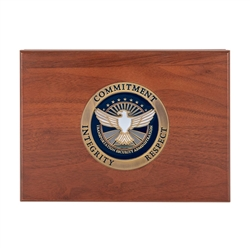 TSA Keepsake Box with Medallion