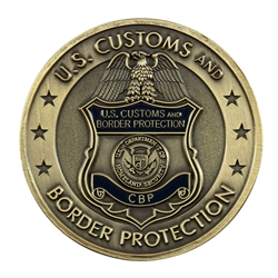 DHS-CBP Badge Color Coin