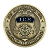 DHS-ICE Badge Coin with Color