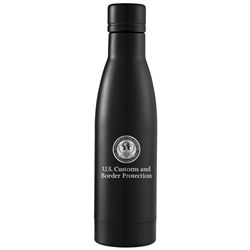 CBP Black Stainless Steel Vacuum Bottle