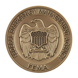DHS-FEMA Agency Coin without color