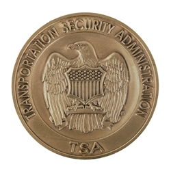 DHS-TSA Agency Coin without color