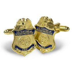 CBP Badge Cufflinks