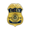 DHS Badge Lapel Pin – Police