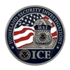 DHS ICE./HSI Color Coin