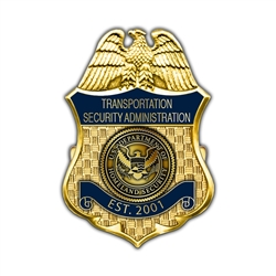 TSA Badge Lapel Pin