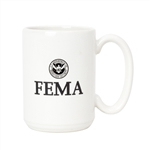 FEMA 15-ounce White Mug