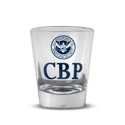 CBP Clear Shot Glass