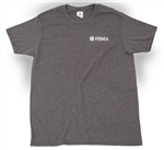 FEMA Men's Vintage Grey Short Sleeve T-shirt