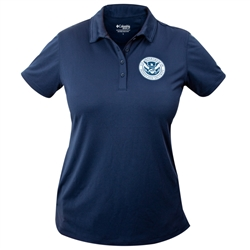 Columbia® Women's Moisture-Wicking Polo (DHS)