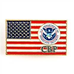 CBP American Flag Lapel Pin