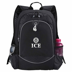 "ICE Black 15"" Computer Backpack"