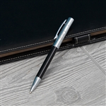 ICE Chrome/Tuxedo Black Ballpoint Pen