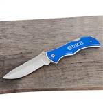 USCIS Blue Wolf Pocket Knife