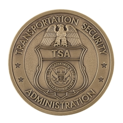 DHS-TSA Badge Coin – no color