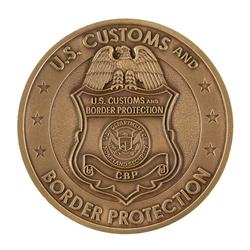 DHS-CBP Badge Coin – no color