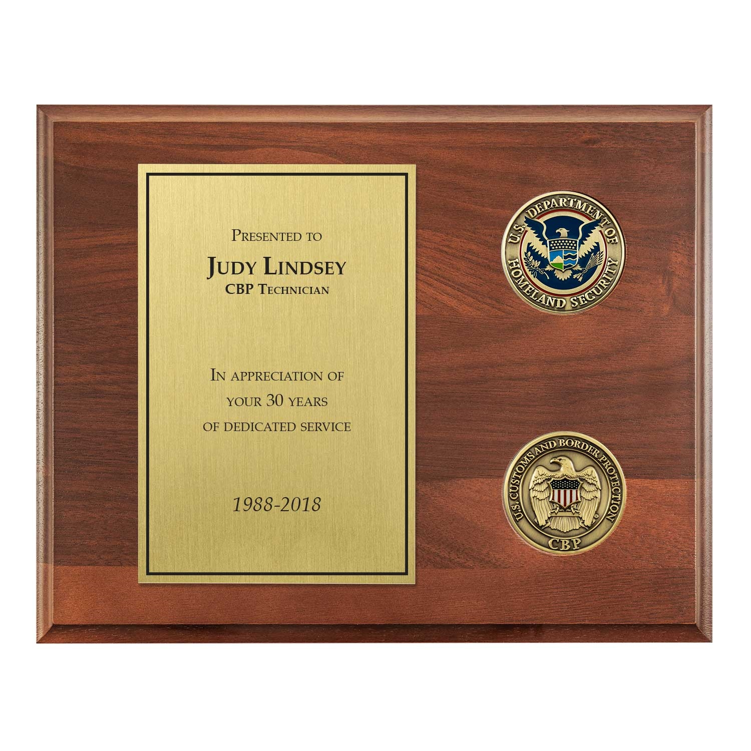 Retirement Plaque Inscription Samples Just B Cause
