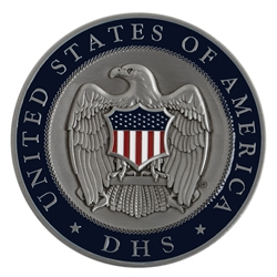 DHS Eagle Medallion (color-filled)