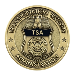 DHS-TSA Badge Color Coin