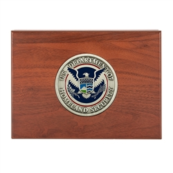 DHS Keepsake Box with Medallion