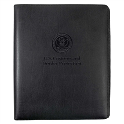 CBP Leather 3-Ring Binder