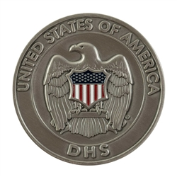 DHS Nickel Silver Color Coin