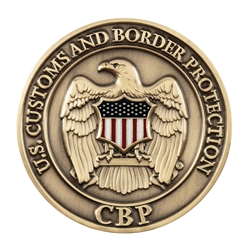 DHS-CBP Official Agency Color Coin