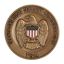 DHS-TSA Agency Color Coin