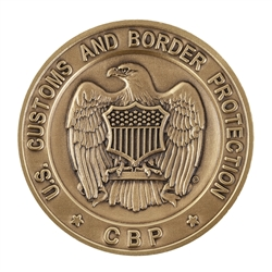 DHS-CBP Official Agency Coin without color