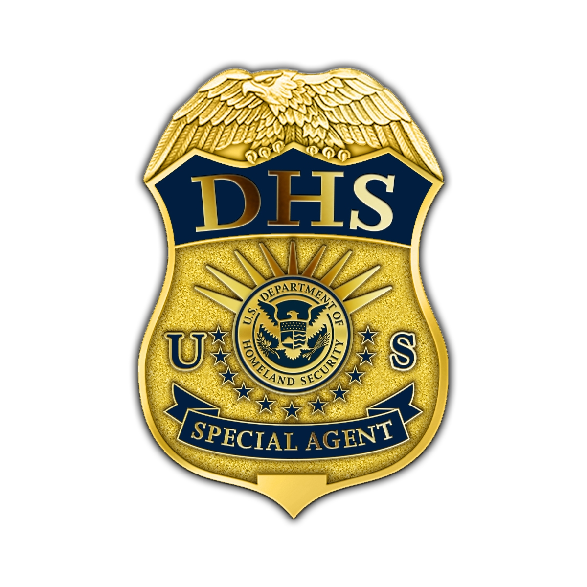 DHS Badge Lapel Pin – Special Agent