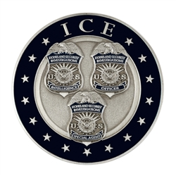 DHS ICE-HSI Color Coin