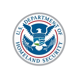 Vinyl Vehicle Magnet - DHS Seal (12 in.)