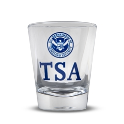 TSA Clear Shot Glass