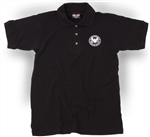 DHS Black Made in the USA Polo Shirt