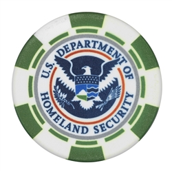 "DHS 1-3/4"" Color Poker Chip"