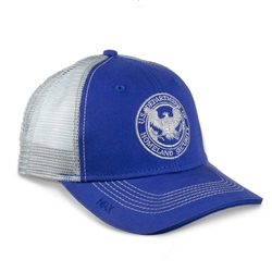"Royal Blue/Gray MAXâ""¢ Trucker Hat (DHS)"