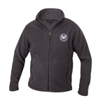 Men's Iron Grey Zippered Fleece