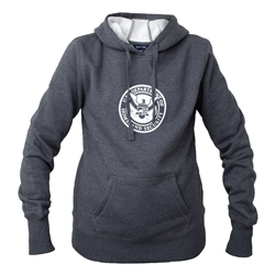 Women's Graphite Grey Pullover Hoodie (DHS)