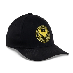 Black Hat with Gold DHS Seal