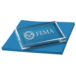 FEMA Rectangle Paperweight