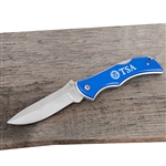 TSA Blue Wolf Pocket Knife