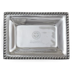 USCIS Small Pewter Tray