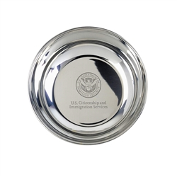 USCIS Pewter Candy Dish